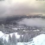 Neve Aprica Valtellina inizio Novembre