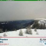 Neve Teglio Valtellina inizio Novembre